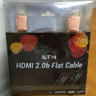 ATN HDMI 2.0b Flat Cable線(100% new未開封)