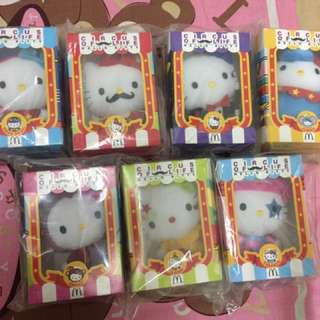McDonald's Hello Kitty circus of life