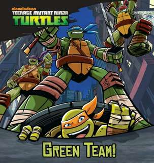 [Brand New] TMNT Green Team! (Teenager Mutant Ninja Turtles)