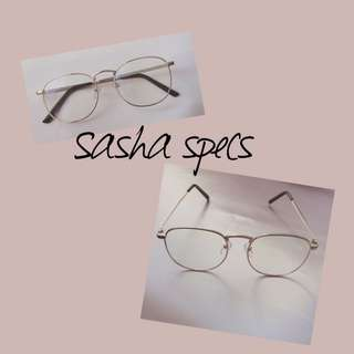 Sasha Specs/ Glasses