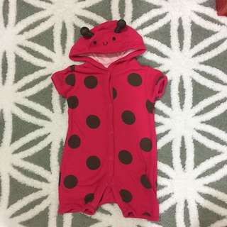 Mothercare Lady Bug Romper