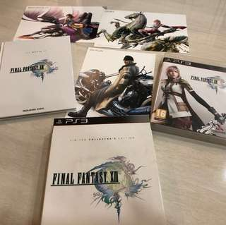 Final Fantasy XIII Limited Collector's Edition PS3
