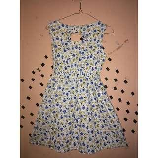 Dress pendek floral 2