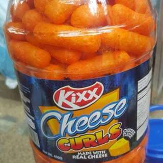 Kix cheese curls