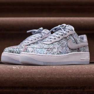 Limited Edition Nike Air Force 1 Upstep Glass Slipper