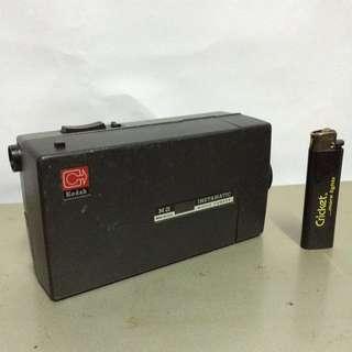 Vintage camera/movie Kodak Instamatic M2 Made in USA  Uses Kodak super 8 film cartridge Function