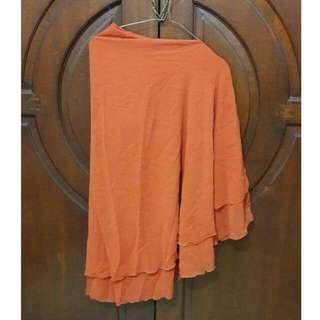 Kerudung / jilbab orange