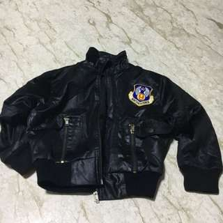 Leather jacket for boys (6-8years old)