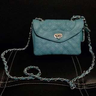 Turkish Blue Small Body Bag