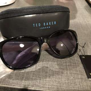 Ted Baker Sunglasses in Black 100% New