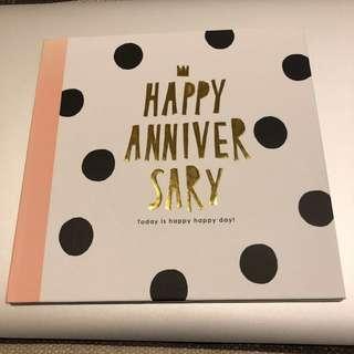 🚚 週年紀念日卡片 日本購入