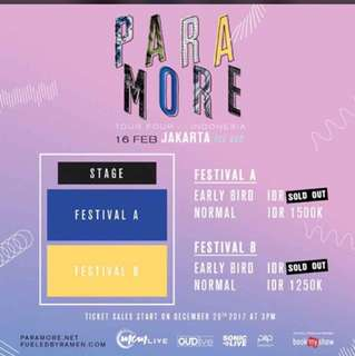 Music Event with PARAMORE four Indonesia//Ice Bsd//16 feb 2018