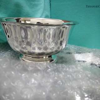 Tiffany & Co. Pewter Revere Bowl 7in.