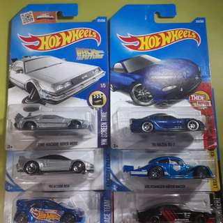 Hotwheels Collectible Cars (1k set or 200 each)