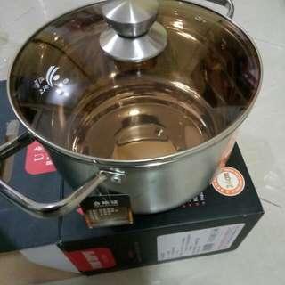 不銹鋼煲24*24cm