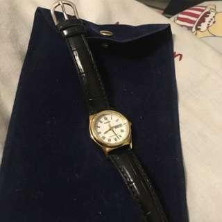 99%新 Casio 細錶面 手錶