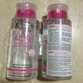 Anti-acne Double Micellar Cleansing Water/ Make-up Remover