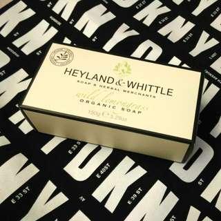 英國名牌 HEYLAND & WHITTLE organic soap (wild lemongrass) 150g