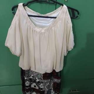 Aztec dress/skirt with top