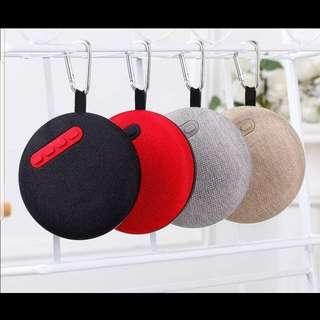 BNIB Portable Bluetooth FM Speaker circular Google home feels