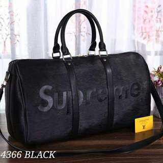 Louis Vuitton Black Supreme Travel Bag