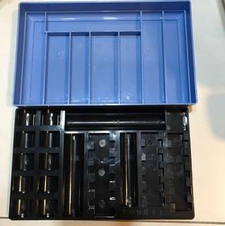 Coin organiser box