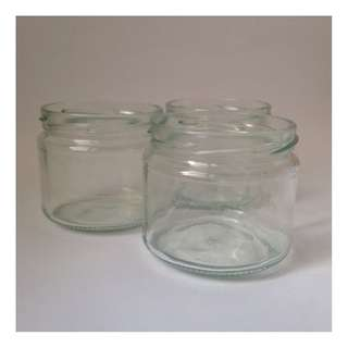 Glassjars (without lids/covers)