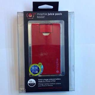原裝正品Mophie juice pack universal boost for iPhone & iPod 充電器