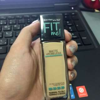 Maybelline FIT me! Matte+ Poreless Foundation
