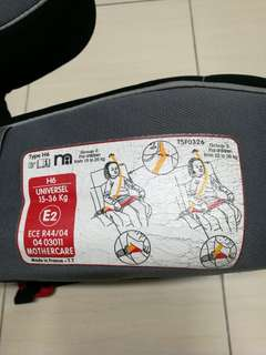 Child booster seats(Made in France)