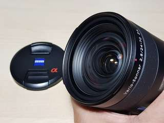 Carl Zeiss 24-70mm f2.8 SSM A-mount