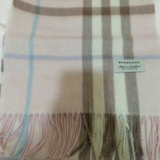 Burberry Scarf Cashmere Pink