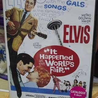 DVD - Elvis Presley , It Happened At the World Fair