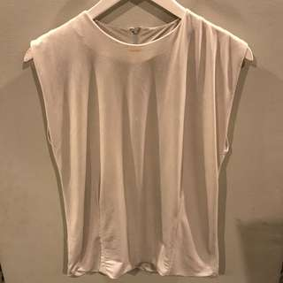Zara silver party top