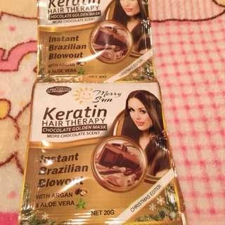 Keratin Hair Theraphy