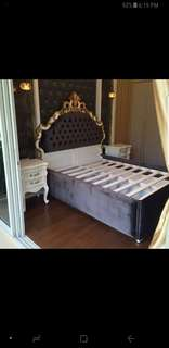 Almost new queen size bed frame from Paris Home 4sale cheap!
