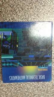 Basic Technical Mathematics Seventh 7th Edition Hardcover Textbook