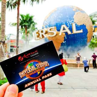 USS annual pass - 2 adults