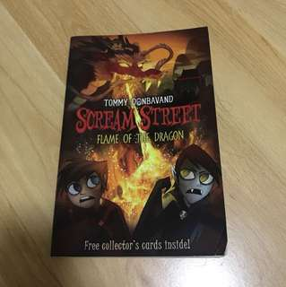 Scream Street Flame of the Dragon by Tommy Donbavand