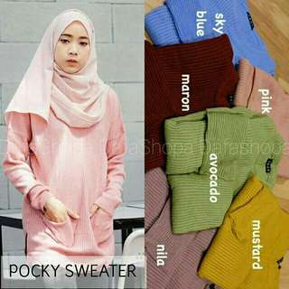 Pocky saku sweater
