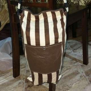 Cross Body Fabric X Leather Unbrand