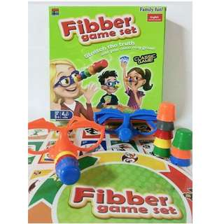 Fibber game set: Stretch the truth and your nose may grow