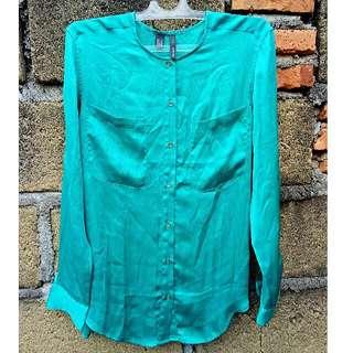 Mango Shiffon Silk Shirt