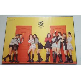 FRAMED AUTHENTIC TWICE LIMITED EDITION KNOCK KNOCK POSTER