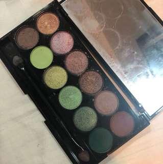 Sleek Eyeshadow Palette - garden of eden