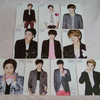 EXO Photocard Official Smart Exhibition