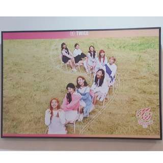 FRAMED AUTHENTIC LIMITED EDITION TWICE TT POSTER