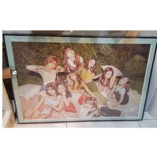 FRAMED AUTHENTIC TWICE LIMITED EDITION LIKEY POSTER