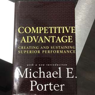 Competitve Advantage Michael Porter