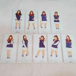 I.O.I Photocard Official